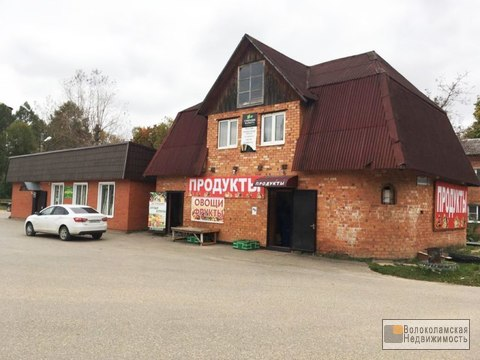 Продажа здания магазина в поселке Сычево (арендный бизнес) - Фото 1