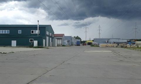 Сдается ! Открытая площадка 1300 кв. м.бетон, Закрытая территория, - Фото 2