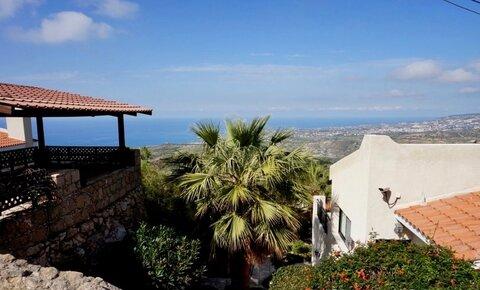 Прекрасный 3-спальный отдельный дом с панорамным видом в районе Пафоса - Фото 2