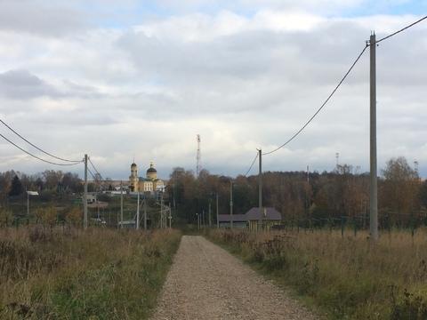 Участок 10 соток ЛПХ село Шарапово Чеховский район - Фото 1