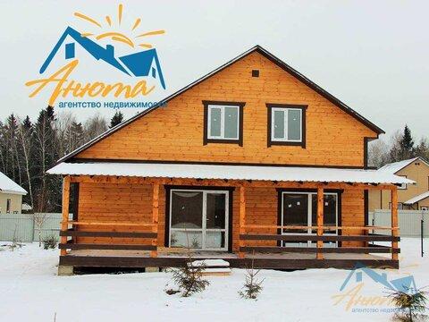 Новый дом с пропиской в деревне на берегу озера в калужской области - Фото 3