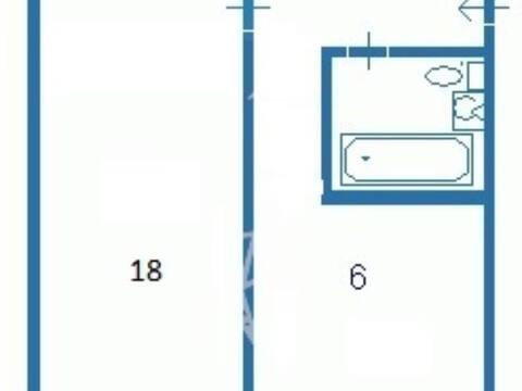 Продажа однокомнатной квартиры на Портовой улице, 38 в Магадане, Купить квартиру в Магадане по недорогой цене, ID объекта - 319880145 - Фото 1