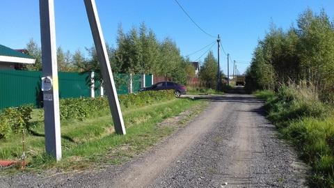 12 соток п. Новозавидовский мкр-н Западный - Фото 1