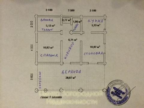 Дом, Минское ш, Можайское ш, Киевское ш, 40 км от МКАД, Петелино д. . - Фото 4