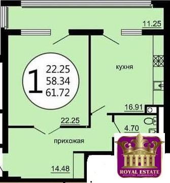 Продается квартира Респ Крым, г Симферополь, ул Гаспринского, д 1/13 - Фото 3