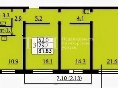 3-комн. квартира, Мытищи, пер Рупасовский 1-й, 11б - Фото 2