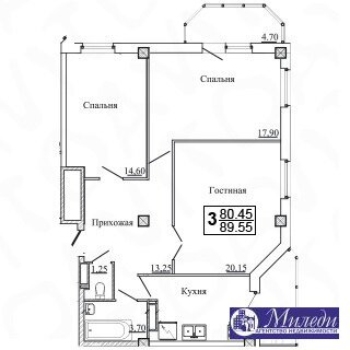 Объявление №61449622: Квартира 3 комн. Батайск, ул. Огородняя, 1005,