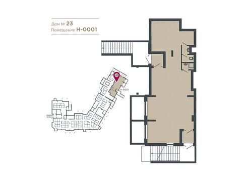 Продается помещение 88.4 м2, м. Славянский бульвар - Фото 1