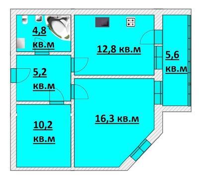 Продажа квартиры, Казань, Фатыха Амирхана пр-кт. - Фото 2