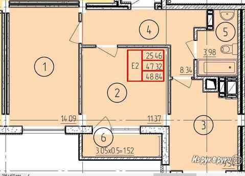 2-комнатная квартира Летняя ул.