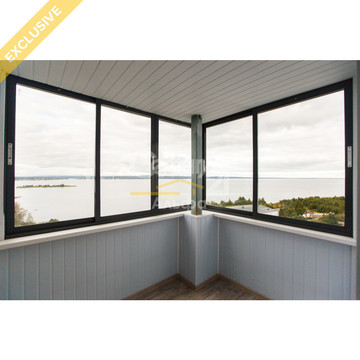 Продается 1-комн квартира с видом на озеро по наб.Варкауса, д. 35, Купить квартиру в Петрозаводске по недорогой цене, ID объекта - 321871601 - Фото 1