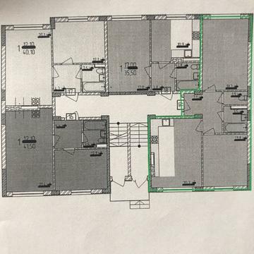 Купить крупногабаритную квартиру в малоквартирном доме, ЖК Надежда. - Фото 1