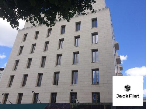 """ЖК """"Полянка/44"""" - 124 кв.м, 3 спальни + кухня-гостиная, 3/7 эт. - Фото 1"""