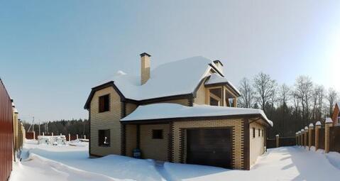 Дом 260м2 в экологически чистом районе на 20 сотках бчо д. Тростье - Фото 2