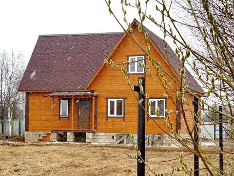 Продаю новый зимний дом в деревне, 98 км от МКАД по Ярославскому ш. - Фото 4