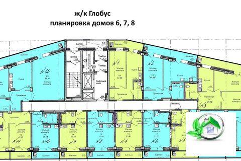 Продам 2 ком. квартиру в новостройке - Фото 4