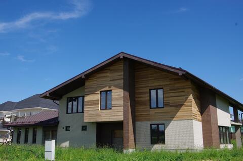 Дом 430 кв. м. на уч. 20 сот, д. Крекшино, окп - Фото 1