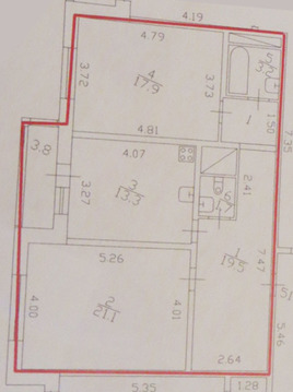 Продаем 2-х комнатную квартиру - Фото 2