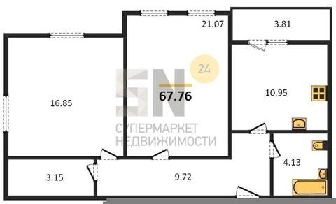"""Продается 2-ая квартира в ЖК """"Атмосфера"""""""