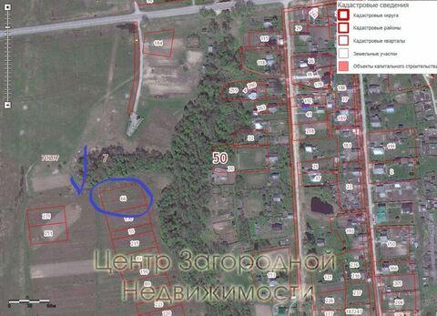 Участок, Новорижское ш, Волоколамское ш, 120 км от МКАД, Клишино д. . - Фото 5