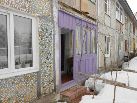 2 350 000 Руб., Зои Космодемьянской 42а, Купить квартиру в Сыктывкаре по недорогой цене, ID объекта - 318416300 - Фото 1