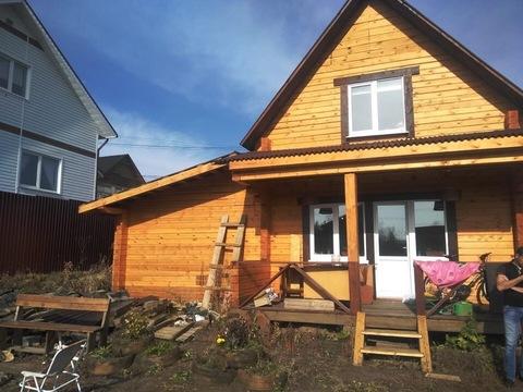 Новый дом из профилированного бруса в Маркова - Фото 2