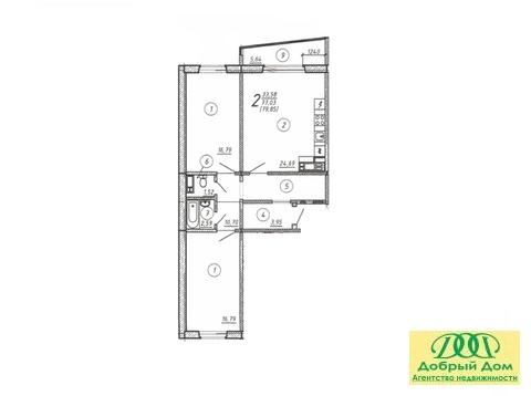 Продам новую 3-к квартиру на Завалишина, 39 - Фото 5