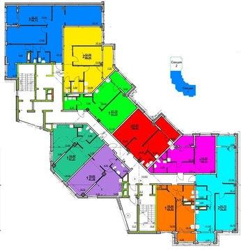 Продается 2-к квартира в новом доме в центре - Фото 1