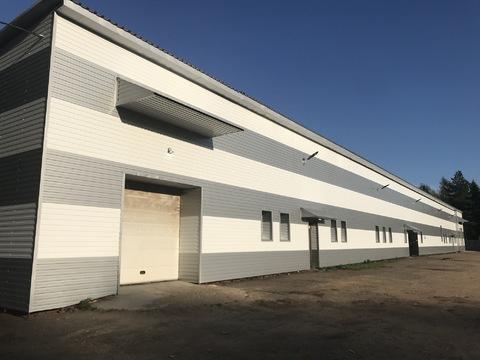 Сдается кирпичное производственно-складское помещение 1200 кв. м. - Фото 1