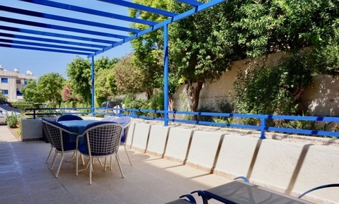 Трехкомнатный апартамент с большой террасой и рядом с морем в Пафосе - Фото 5