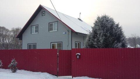 Эксклюзив! Продается дом в деревне Ореховка на берегу пруда. - Фото 1