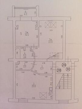 3-комнатная квартира Гурьевск г. Ясный пер - Фото 4