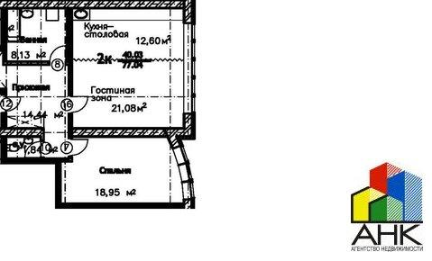 Продам 2-к квартиру, Ярославль город, улица Стопани 54 - Фото 1