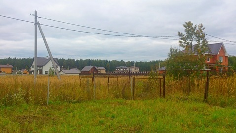 Участок 11 соток в д.Здехово, Щелковского района ИЖС. - Фото 4