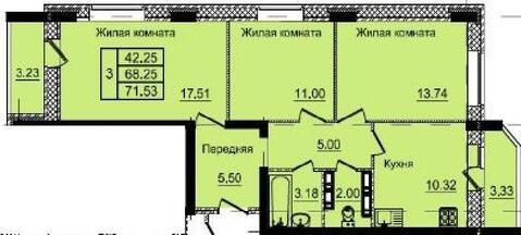 Продажа квартиры, Орел, Орловский район, Ул. Веселая - Фото 1