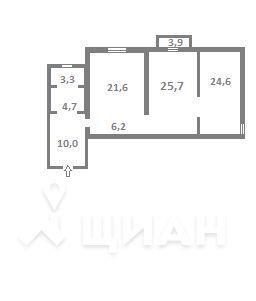 Продажа квартиры, Орел, Орловский район, Почтовый пер. - Фото 2