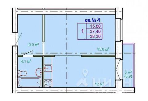 Продаю1комнатнуюквартиру, Кострома, Лесная улица, 11, Купить квартиру в Костроме по недорогой цене, ID объекта - 323531154 - Фото 1