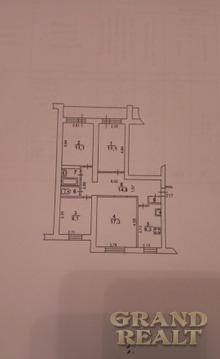 Светлая четырехкомнатная квартира с раздельными комнатами - Фото 1