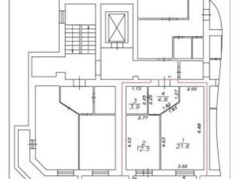 2 800 000 Руб., Продажа однокомнатной квартиры на улице Салтыкова, Купить квартиру в Калуге по недорогой цене, ID объекта - 319812773 - Фото 1