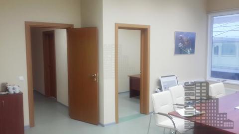 Офис с сейфовой комнатой в круглосуточном бизнес-центре, м. Калужская - Фото 4
