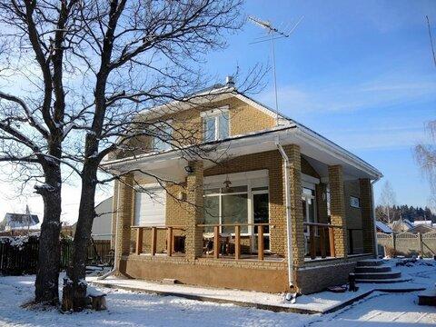 Дом 190 м2, участок 15 сот, Волоколамское ш, 22 км от МКАД, Дедовск. . - Фото 1