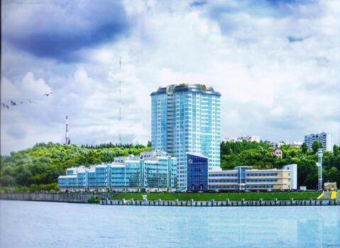 3-ком.квартира (121м2).Панорамный вид, берег реки Волга. ЖК Альбатрос