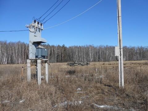 Участок 2 Га на бетонке А-107 (юг) с коммуникациями и забором - Фото 1