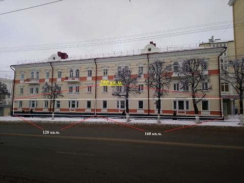 Помещение в Центре города на 1-ой линии площадью от 120 кв.м. - Фото 1