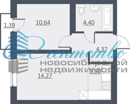 Продажа квартиры, Новосибирск, м. Заельцовская, Ул. Дунаевского - Фото 1