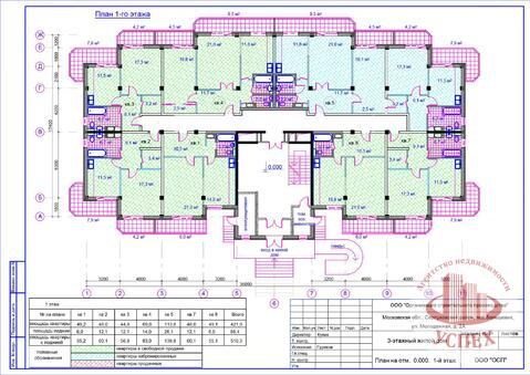 Квартиры в новом строящемся доме, Большевик - Фото 3