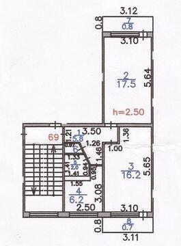 Продаю 2-х ком. 13-й микр. 8-дом. (Автостанция), Продажа квартир в Караганде, ID объекта - 321349524 - Фото 1