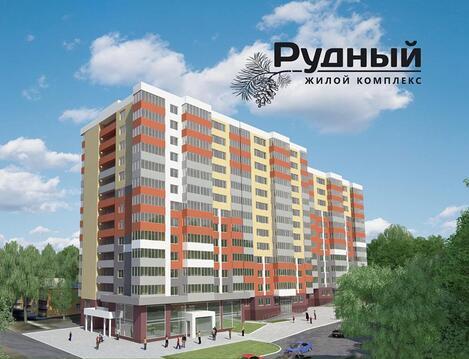 Продажа трехкомнатная квартира 72.13м2 в ЖК Рудный секция 1.4 - Фото 3