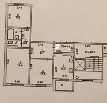 Продажа 3 комнатной квартиры Подольск Шепчинки Литейная 42 - Фото 1