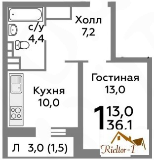 Продажа квартиры, Балашиха, Балашиха г. о, Зенинское ш. - Фото 1